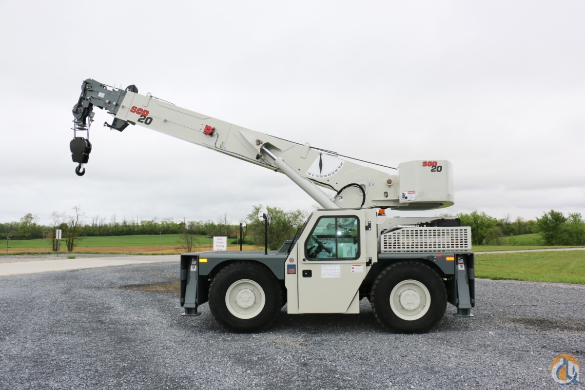 New Dual Fuel ShuttleLift SCD20 Crane for Sale or Rent in Carlisle Pennsylvania on CraneNetwork.com