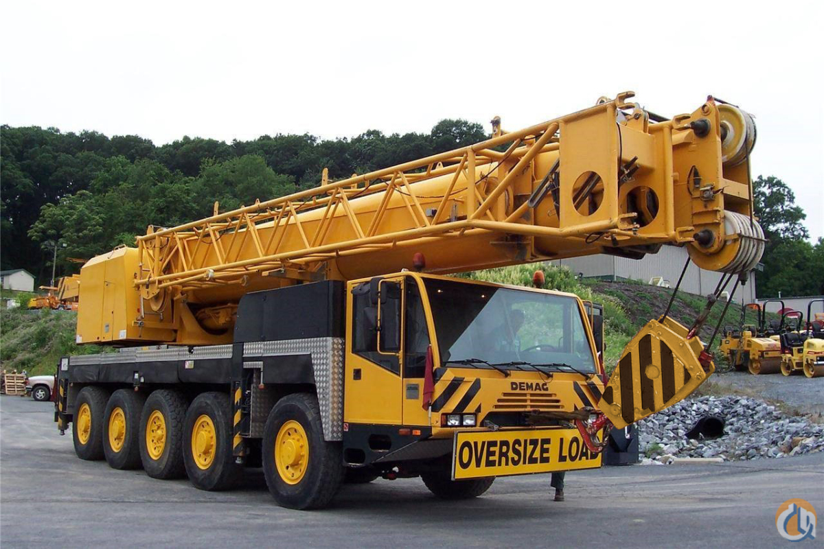 Sold Sei 4719 Lke 2000 Demag Ac100 Crane For In Harrisburg
