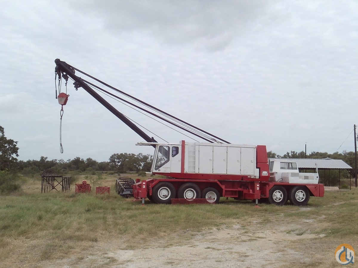 1978 LINK-BELT HC-238A Crane for Sale or Rent in San Antonio Texas on CraneNetwork.com