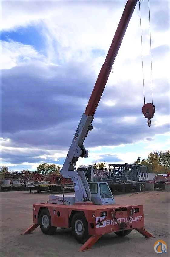 2004 Shuttlelift 3330F Carrydeck Crane Crane for Sale in Brighton Colorado on CraneNetwork.com