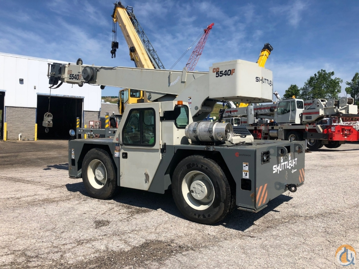Sold 2015 Shuttlelift 5540F 15 ton carry deck Crane for  in Solon Ohio on CraneNetwork.com