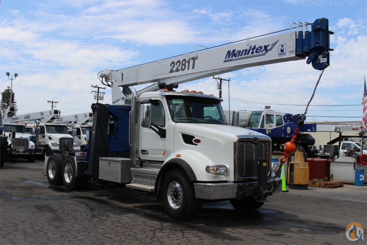 MANITEX 2281T Crane for Sale or Rent in Santa Ana California on CraneNetwork.com