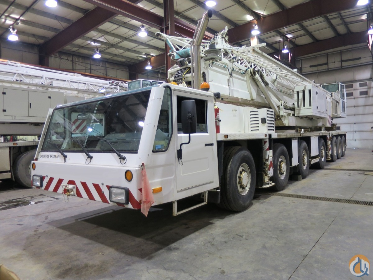MOBILE TOWER CRANE LUFFING JIB Crane for Sale on CraneNetwork.com