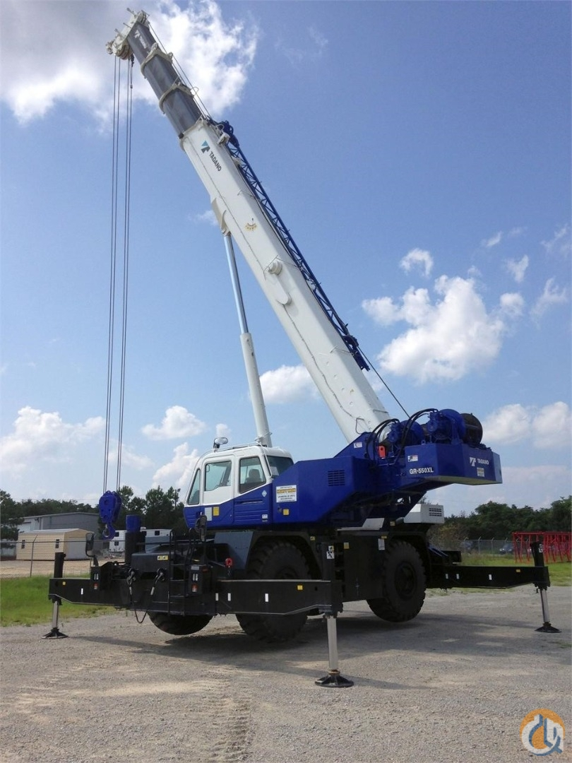 2013 Tadano GR-550XL-2 Crane for Sale or Rent in Lexington South Carolina on CraneNetwork.com
