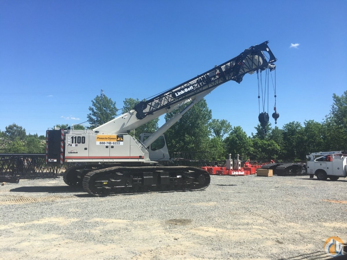 2017 Link-Belt TCC-1100 Crane for Sale in Charlotte North Carolina on CraneNetwork.com