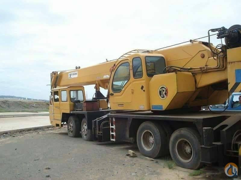 Sold 2009 TADANO TG650E-3 HYD TRUCK CRANE 65 TON Crane for  on CraneNetwork.com