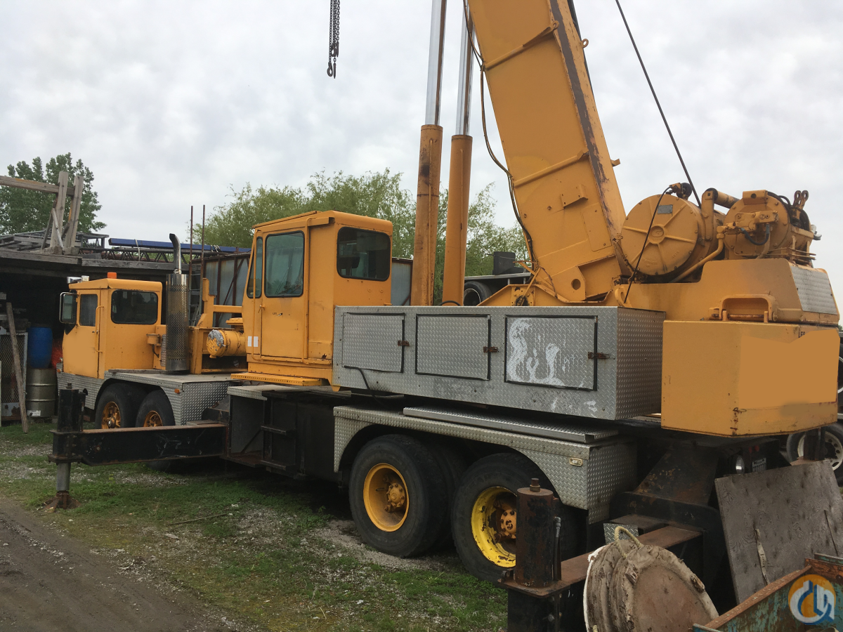 1978 Grove TMS300 35 Ton Hydraulic Truck Crane CranesList ID 333 Crane for Sale in Montreal Quebec on CraneNetwork.com