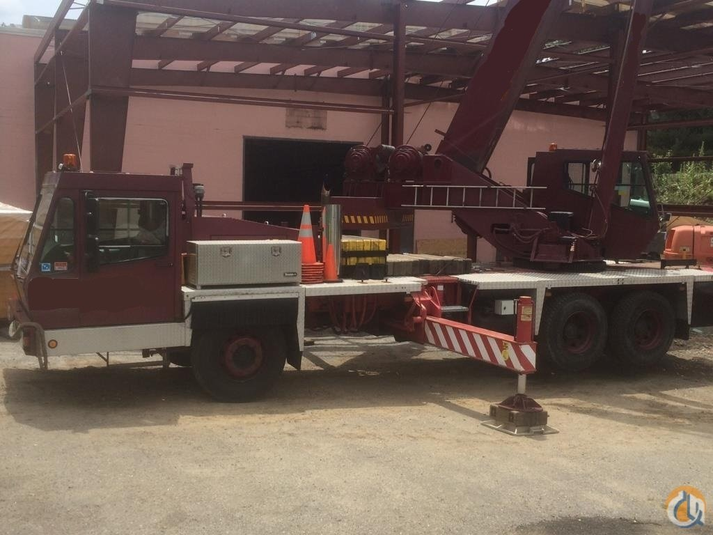 1998 GROVE TMS635BE Crane for Sale on CraneNetworkcom