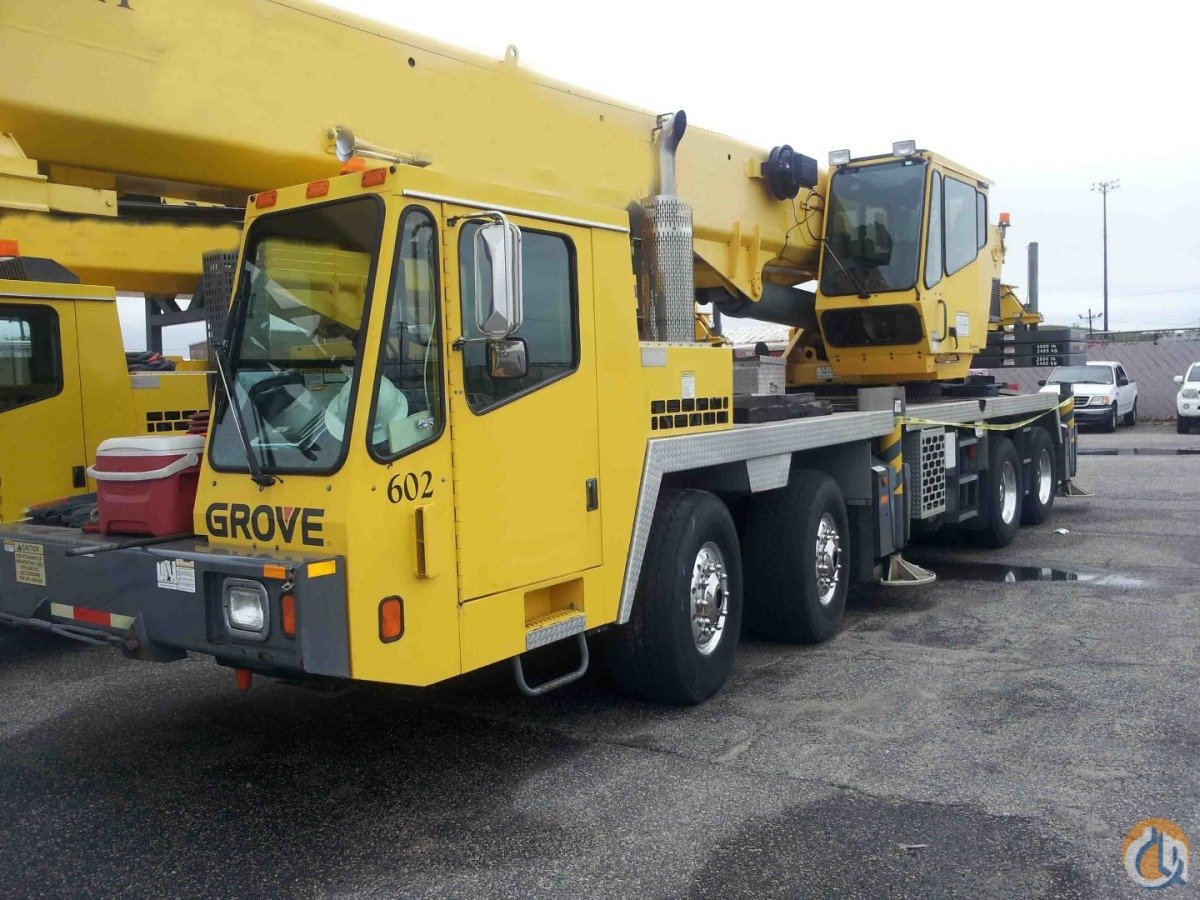 Sold 2005 Grove Tms700e Crane For On