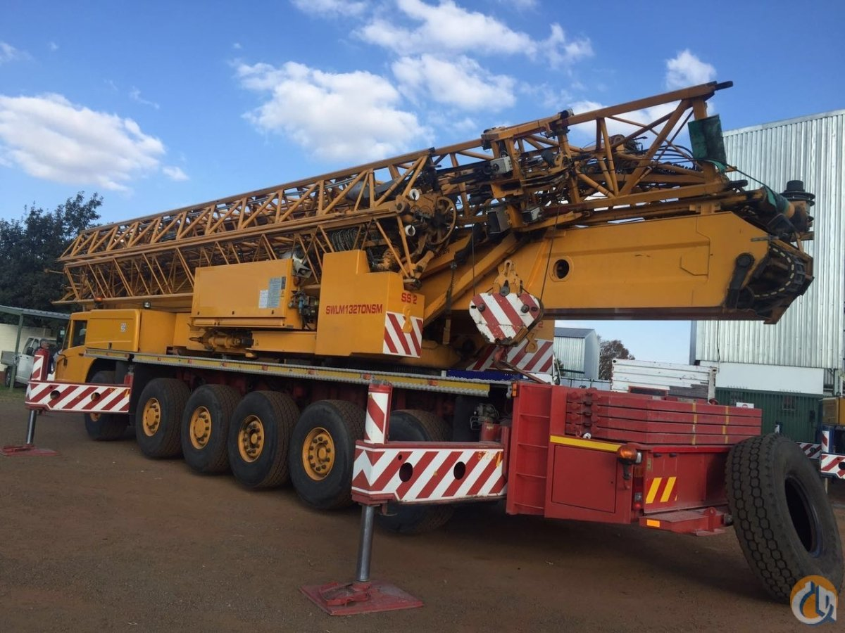 Sold 2005 Spierings Model SK1265-AT6   MOBIL ALL TERRAIN TOWER CRANE 132 TON MODEL Crane for  on CraneNetwork.com