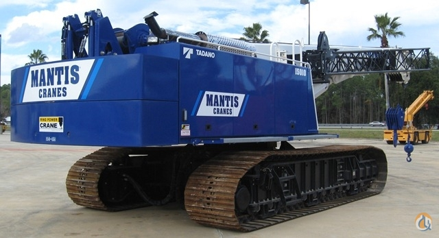 2013 MANTIS 15010 Crane for Sale in St Augustine Florida on CraneNetworkcom