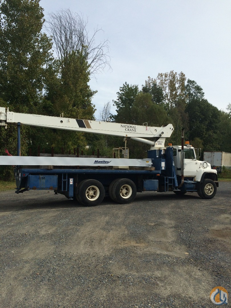 14 Ton 66 FT Boom 42FT Jib ManBasket 118 REACH Crane for Sale in Nueva York Nueva York on CraneNetwork.com
