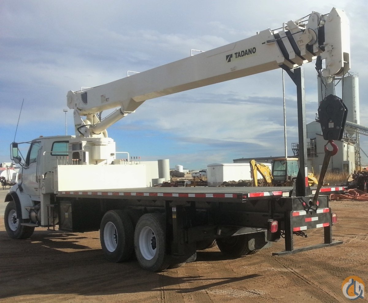 2007 Tadano-Sterling TM20110 Boom Truck CBJ822 Crane for Sale on CraneNetworkcom
