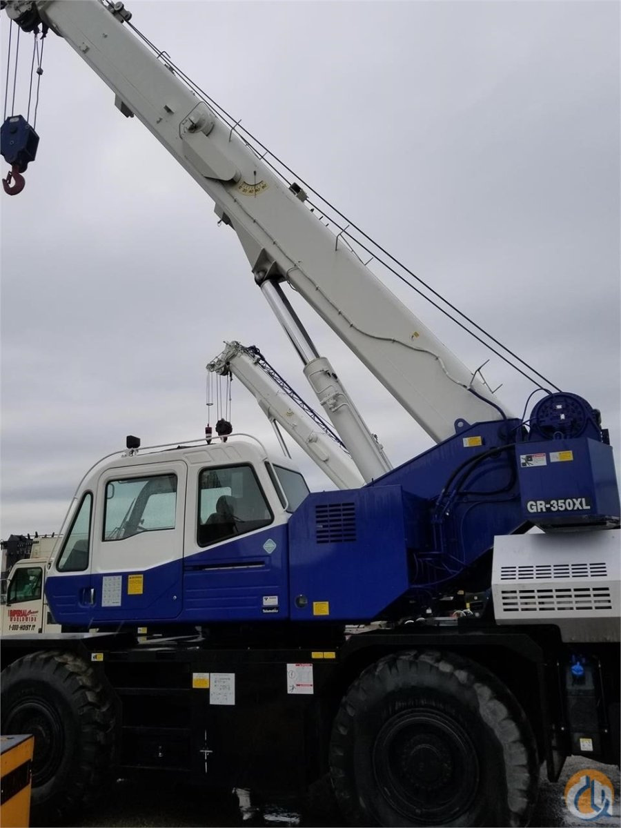 2015 TADANO GR350XL-3 Crane for Sale in Bridgeview Illinois on CraneNetwork.com