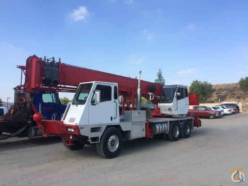 2001 Terex T340 Hydraulic Truck Crane CBJ780 Crane for Sale on CraneNetwork.com
