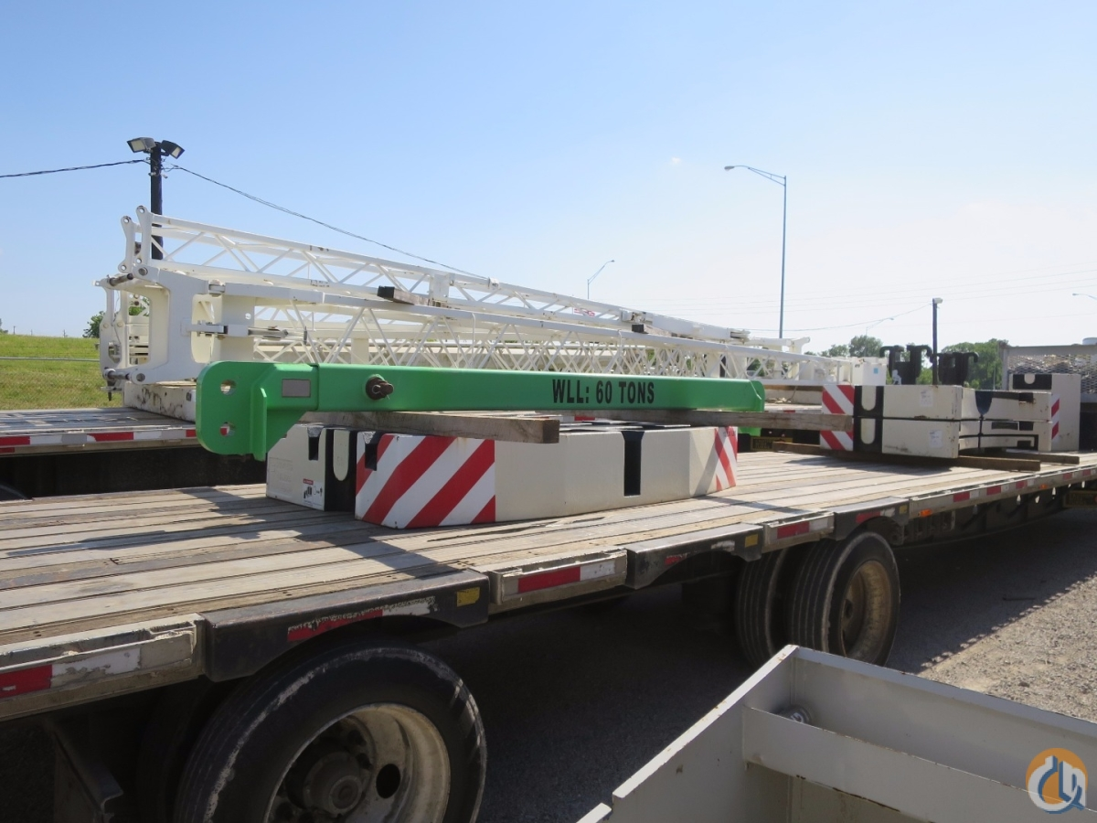 164 Feet main boom plus 62 Jib Very Strong Chart 120 Ton class performance Boom Dolly Float Kit Crane for Sale in Tulsa Oklahoma on CraneNetwork.com