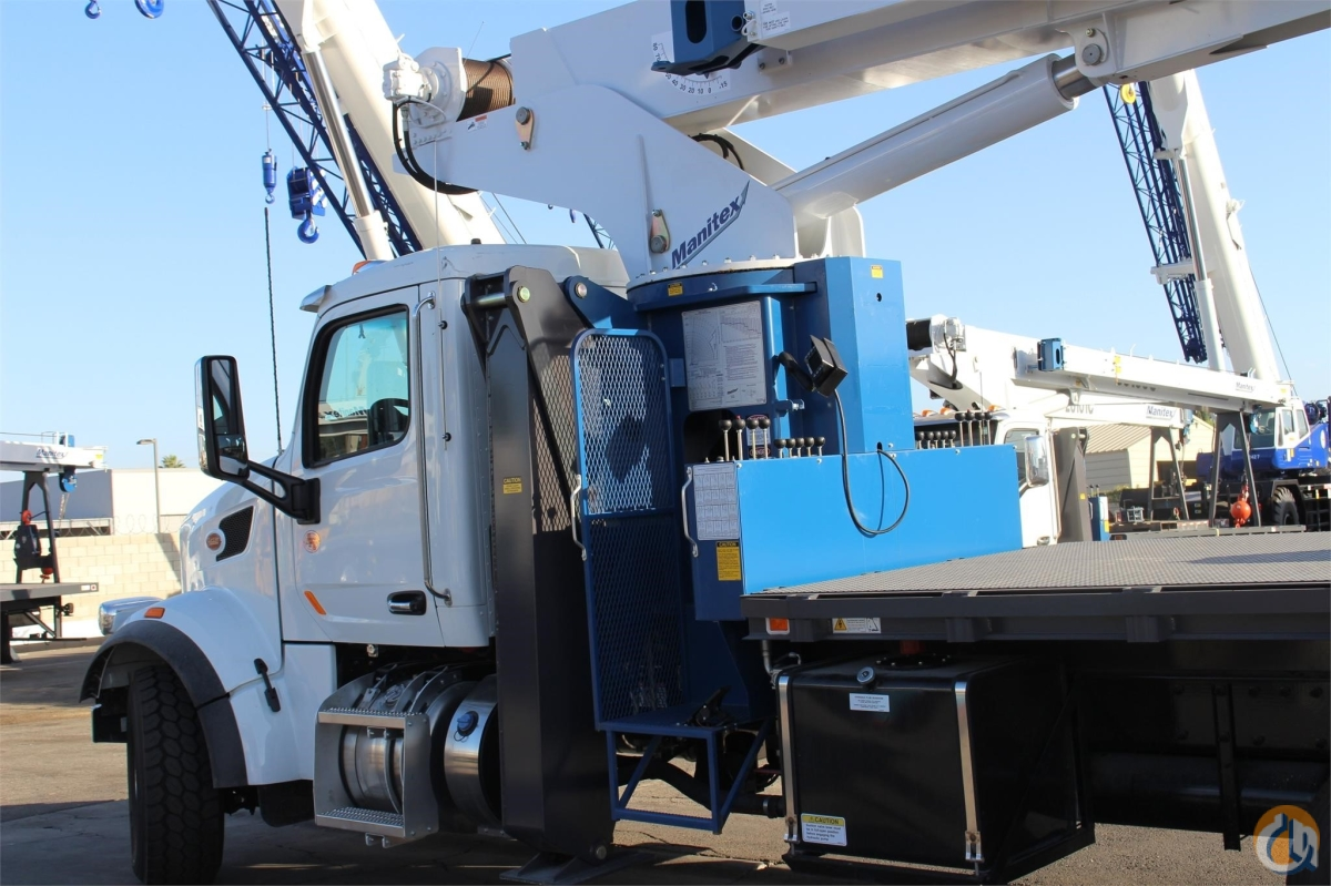2018 MANITEX 30100C Crane for Sale in Sacramento California on CraneNetwork.com