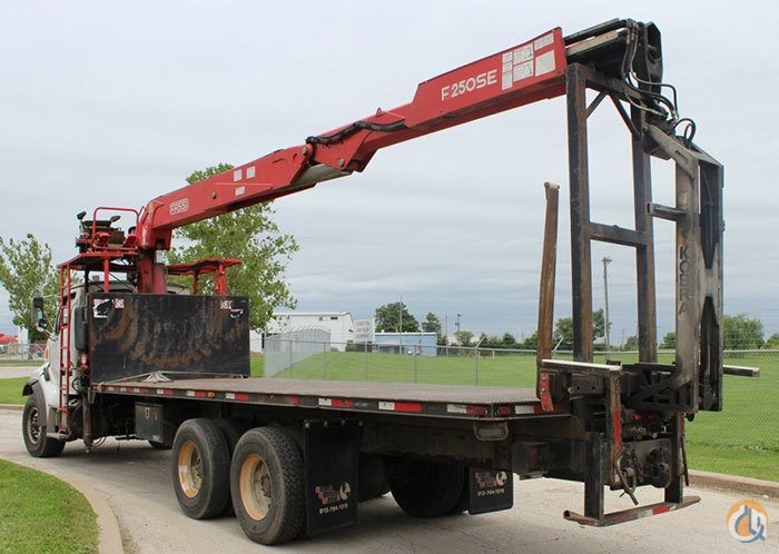 Used FASSI F250SE.22 WALLBOARD CRANE Crane for Sale in Olathe Kansas on CraneNetwork.com