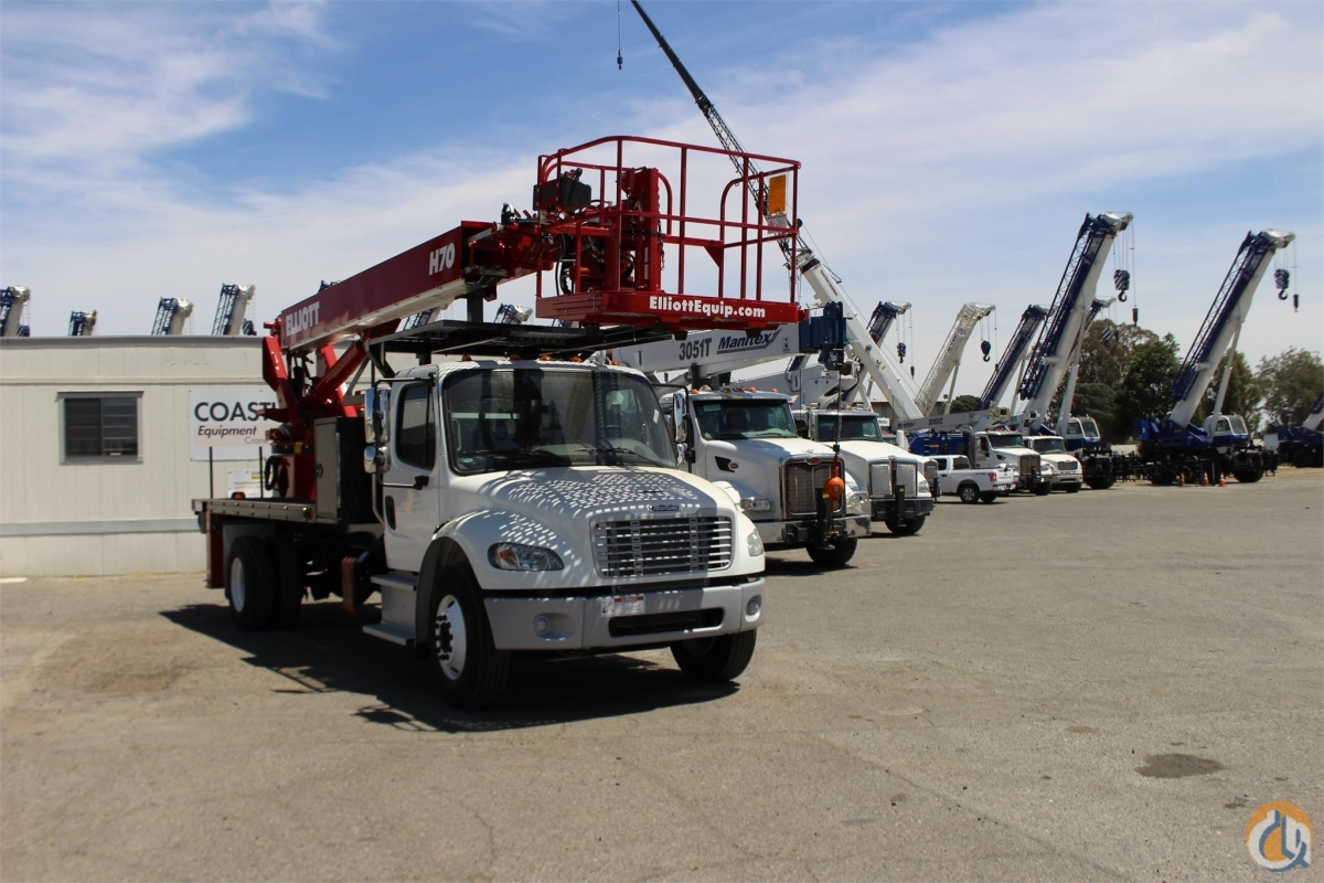 2019 ELLIOTT H70R Crane for Sale or Rent in Sacramento California on CraneNetwork.com