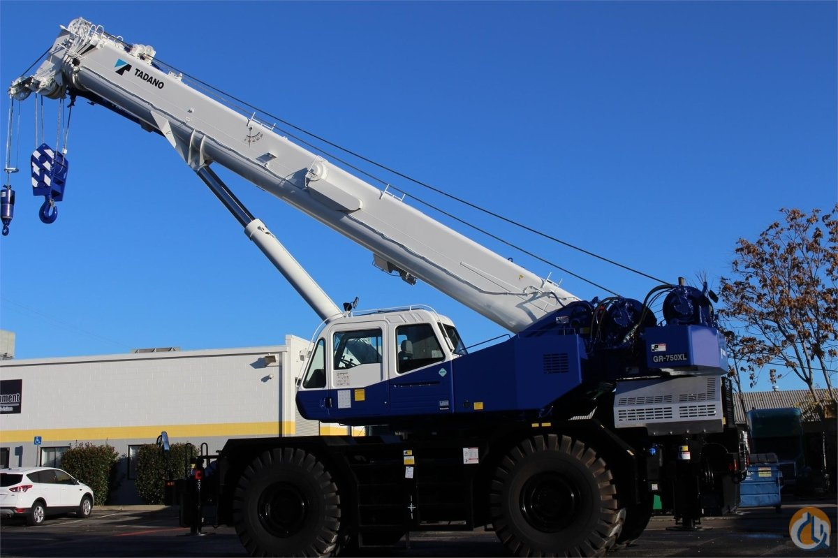 2016 TADANO GR750XL-2 Crane for Sale or Rent in Santa Ana California on CraneNetwork.com