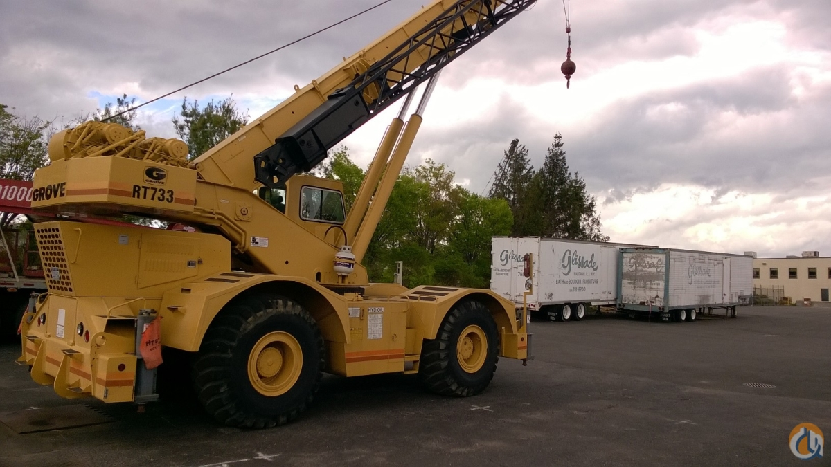 Sold 1992 GROVE RT745 Crane for  in Farmingdale New York on CraneNetwork.com