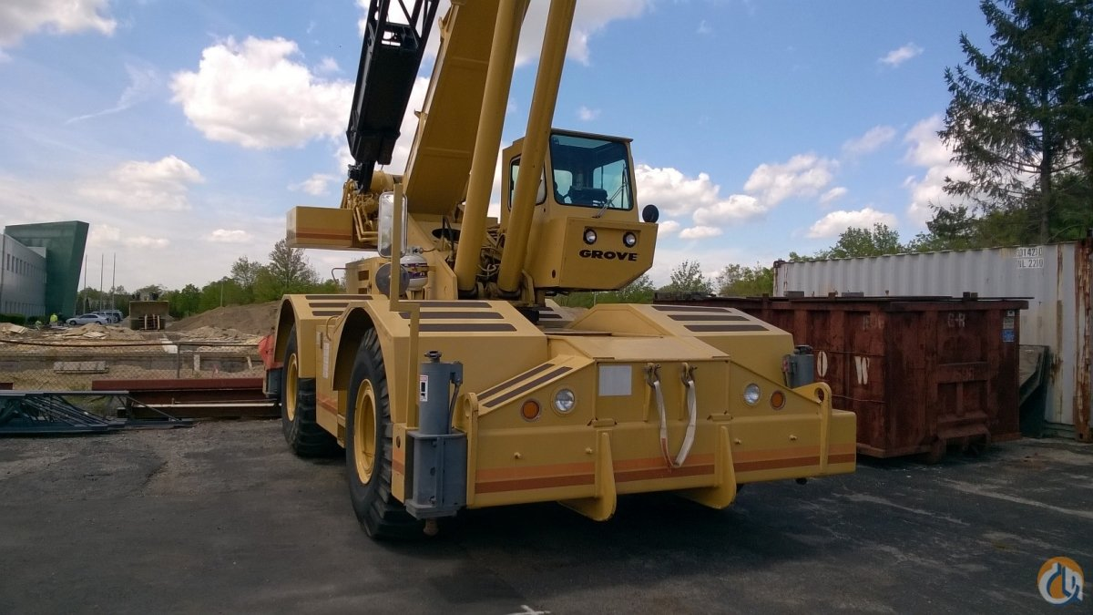 1992 GROVE RT745 Crane for Sale in Farmingdale New York on CraneNetwork.com
