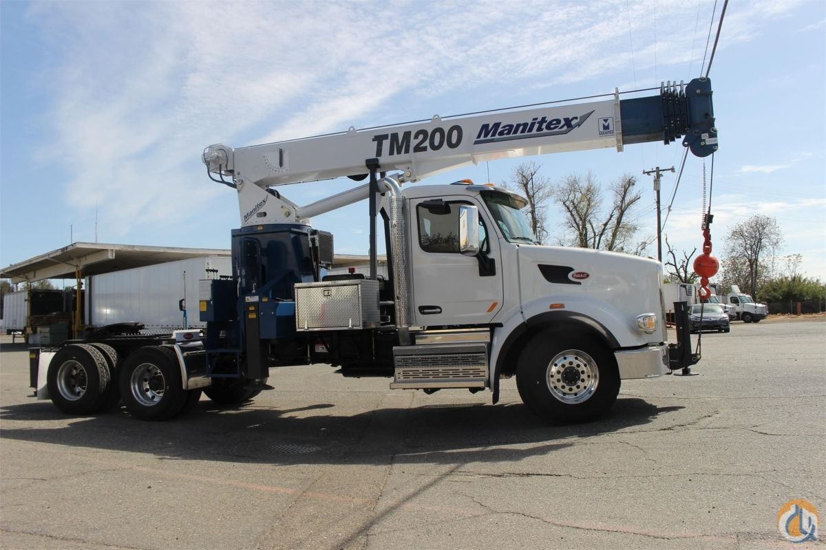 2018 MANITEX TM200 Crane for Sale or Rent in Sacramento California on CraneNetwork.com
