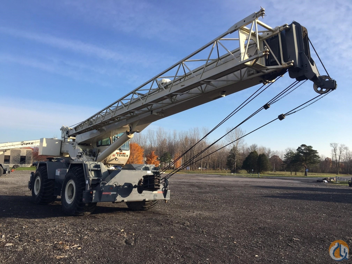 2008 TEREX RT555-1 Crane for Sale in Latham New York on CraneNetwork.com