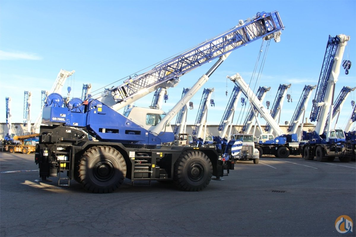 2018 TADANO GR750XL Crane for Sale or Rent in Sacramento California on CraneNetwork.com
