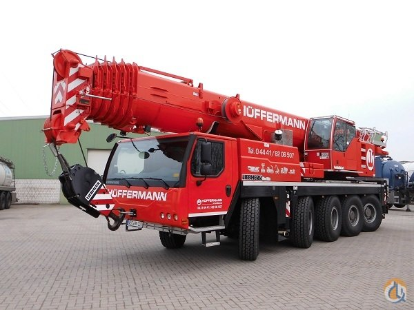 Sold LTM 1100-52 Crane for  in Wildeshausen Niedersachsen on CraneNetworkcom
