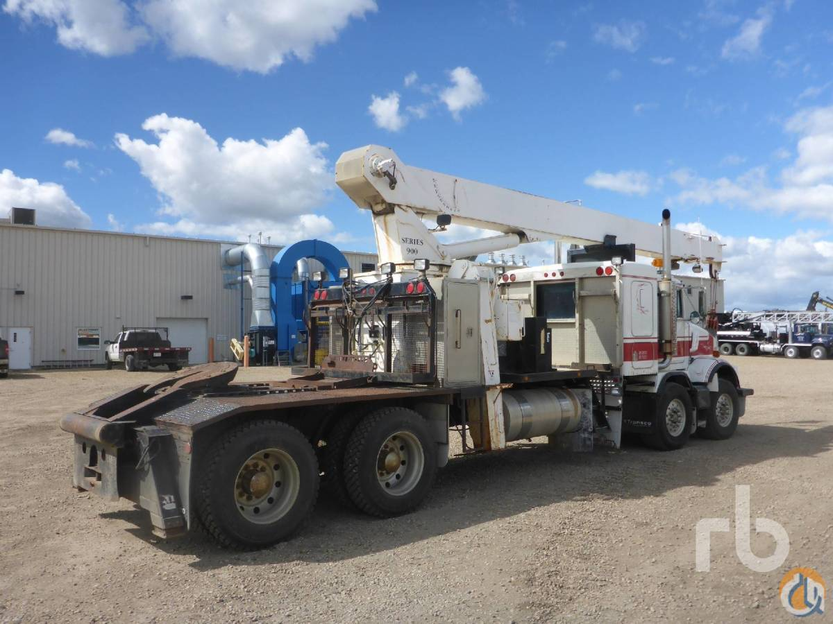 1998 KENWORTH T800SF TA TA wNational 969 Boom Truck Crane for Sale in Grand Prairie Texas on CraneNetworkcom