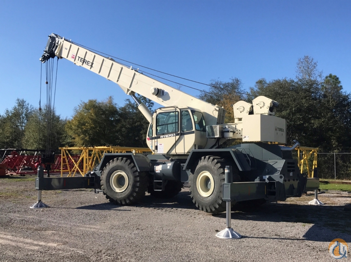 2011 TEREX RT-670 Crane for Sale or Rent in Savannah Georgia on CraneNetworkcom