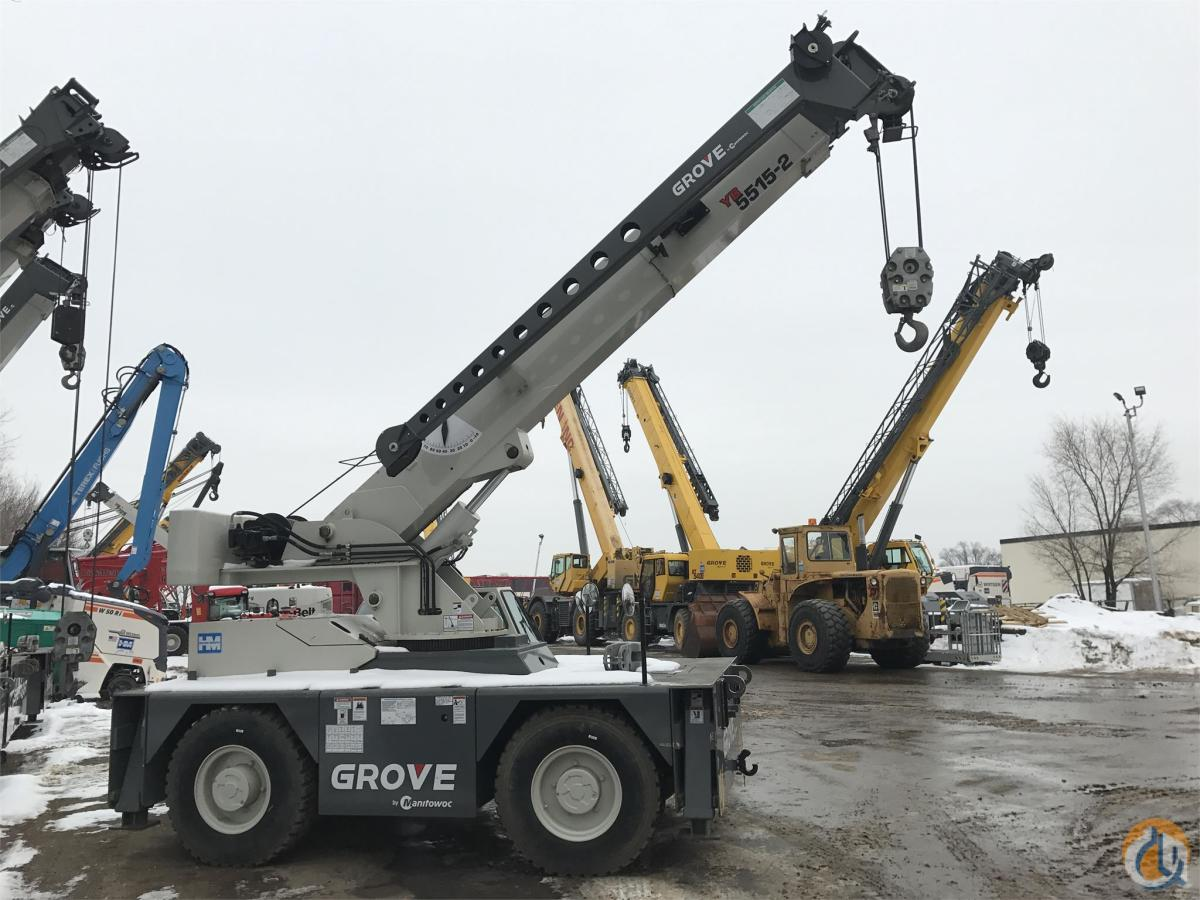 2014 GROVE YB5515-2 Crane for Sale in Bloomington Minnesota on CraneNetworkcom