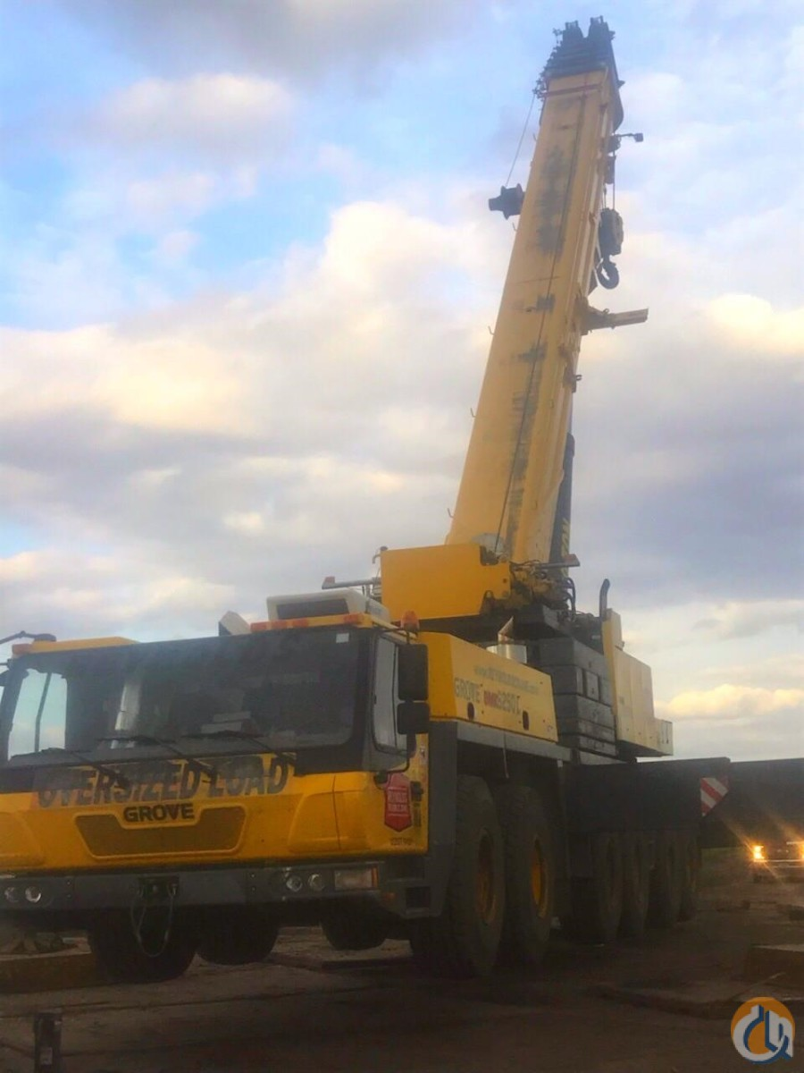 2009 GROVE  GMK6250L Crane for Sale on CraneNetwork.com
