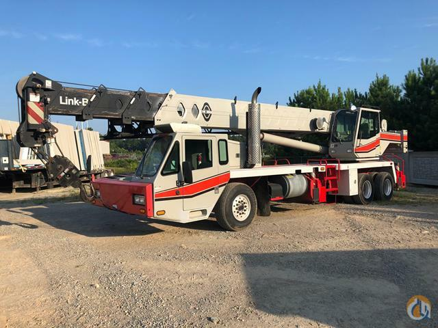 Sold Link-Belt HTC-8640HL 40-Ton Telescopic Boom Truck Crane For Sale Crane for  in Amelia Court House Virginia on CraneNetwork.com