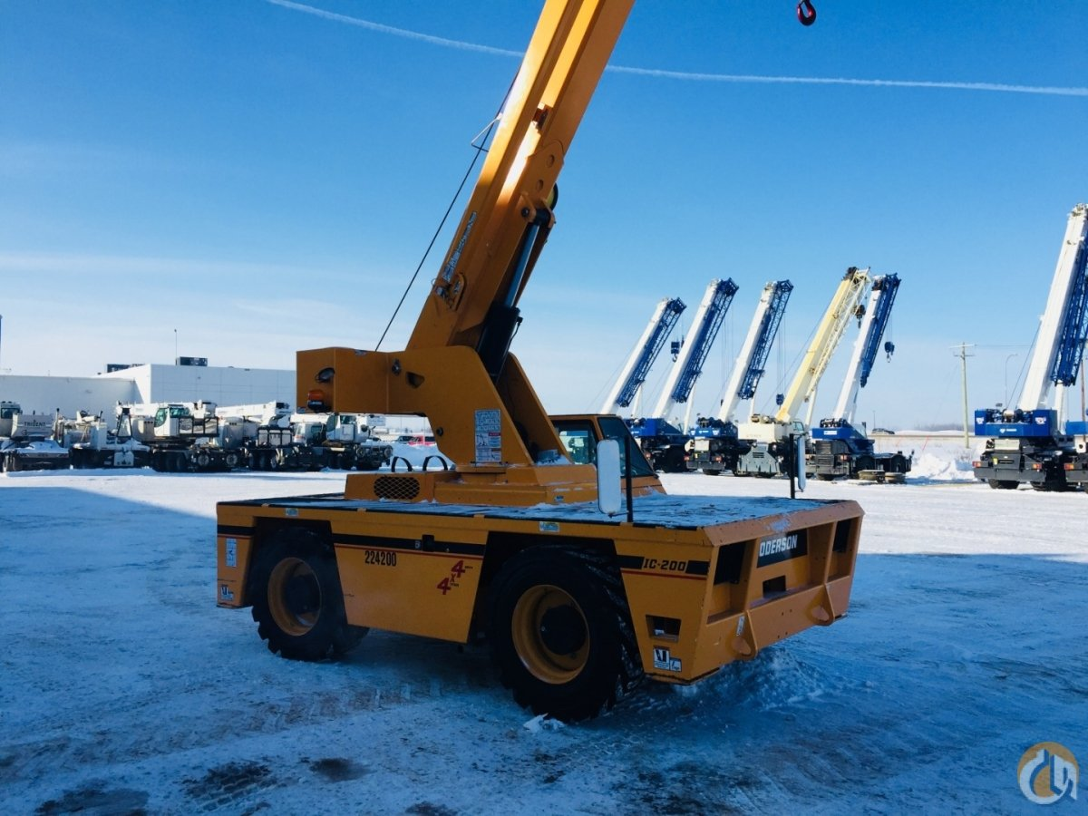 2015 BRODERSON IC-200-3H Crane for Sale or Rent in Nisku Alberta on CraneNetwork.com