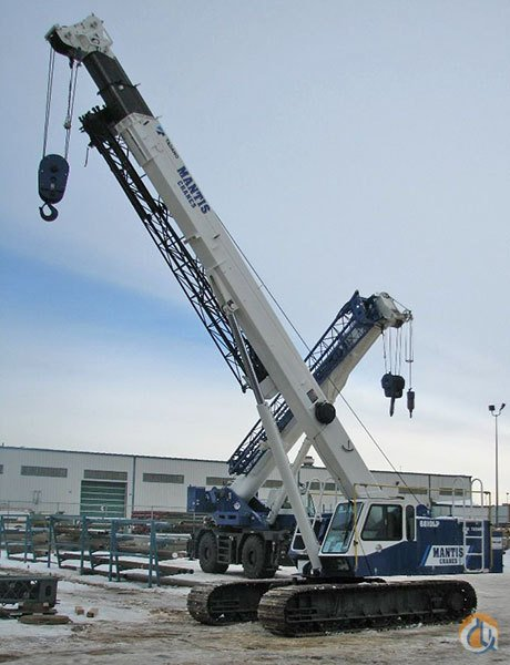 New Mantis 6010LP Telescopic Crawler Crane Crane for Sale on CraneNetwork.com