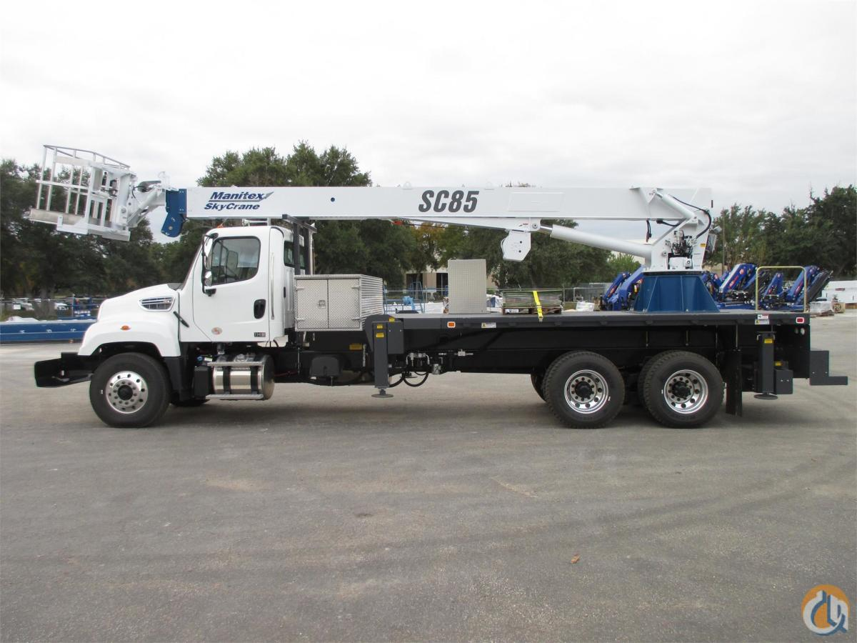 2015 MANITEX SC85 Crane for Sale or Rent in Bridgeview Illinois on CraneNetworkcom