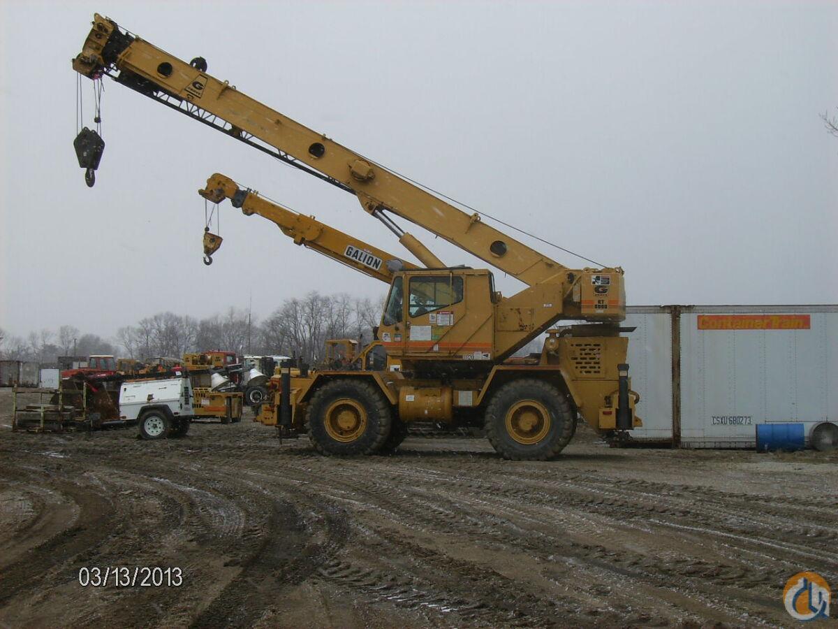 Rough Terrain Crane Application : Grove rt c ton rough terrain crane for sale in
