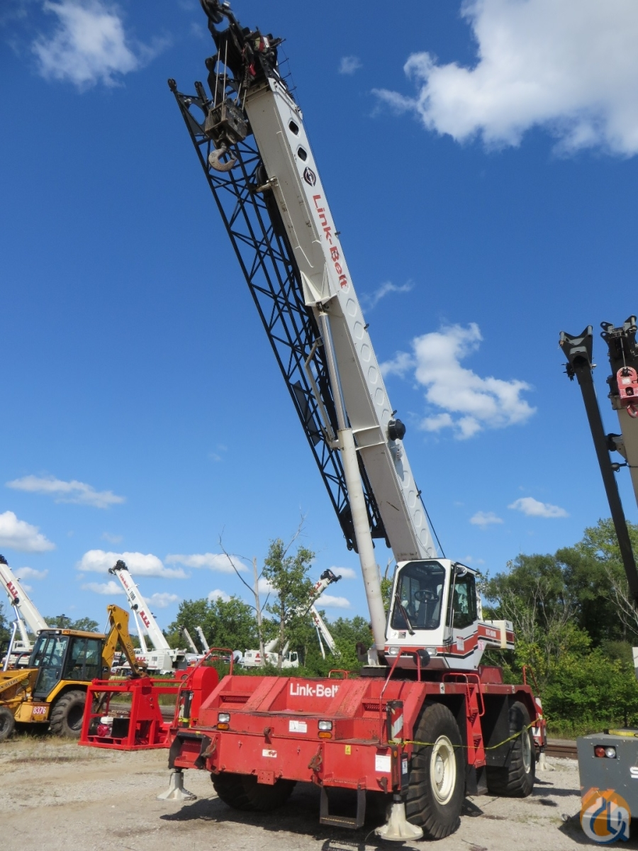 Link-Belt RTC-8040 II For Sale Crane for Sale in Cleveland Ohio on CraneNetwork.com