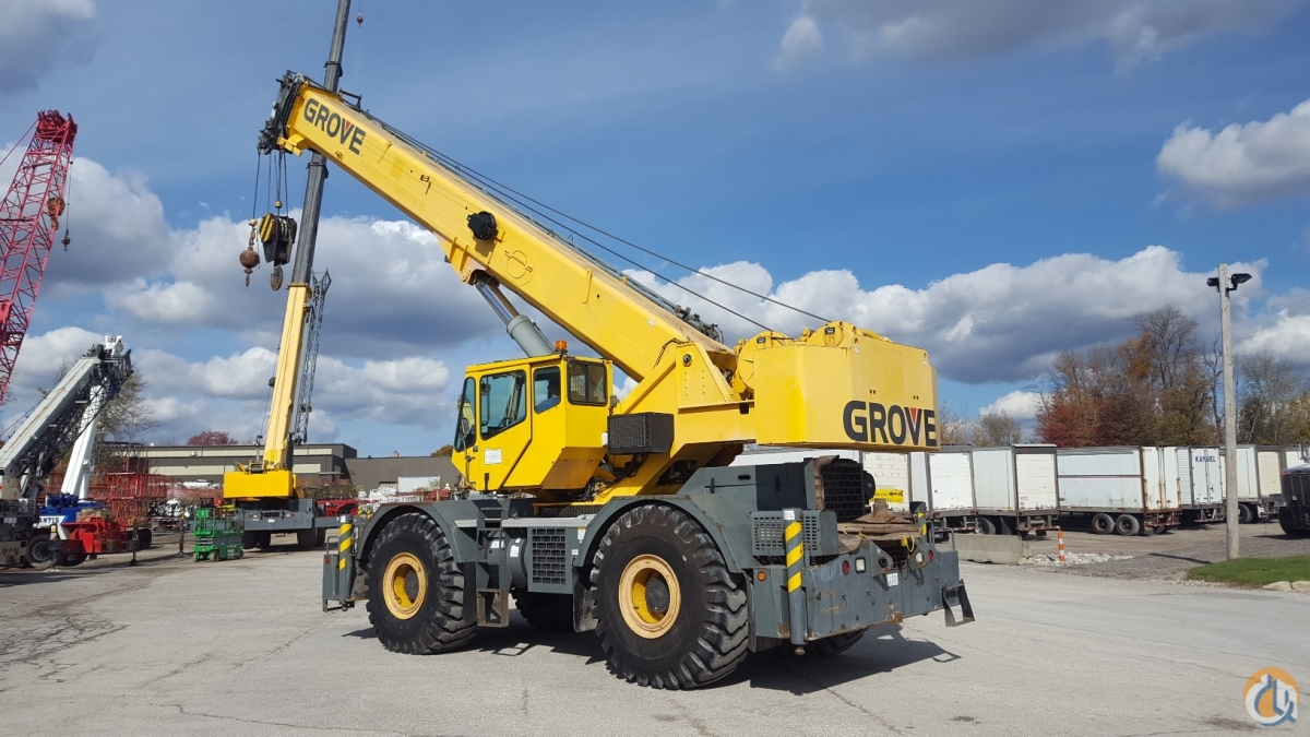 2003 Grove RT760E Crane for Sale in Solon Ohio on CraneNetwork.com