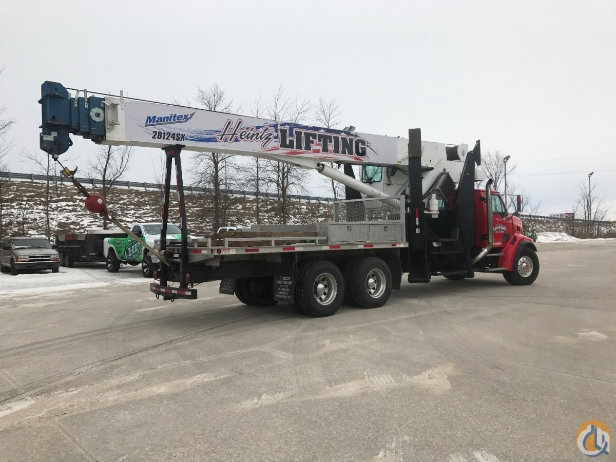 2006 MANITEX 28124SX Crane for Sale in Harrison Michigan on CraneNetwork.com