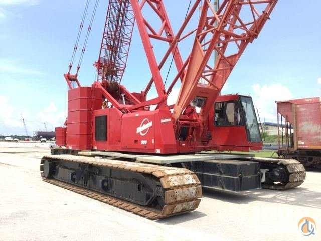 Sold 2005 Manitowoc 999 Series III Lattice-Boom Crawler Crane Crane for  in Pascagoula Mississippi on CraneNetworkcom