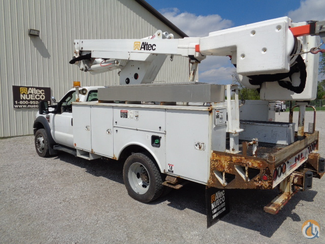 2009 Altec TA37M Crane for Sale in Fort Wayne Indiana on CraneNetworkcom