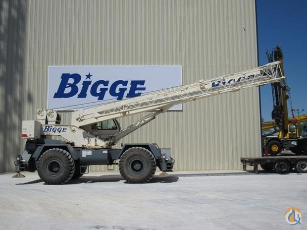 2008 TEREX RT 555-1 Crane for Sale in Houston Texas on CraneNetwork.com