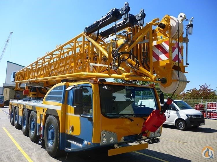 2019 DEMAG AC160-5 Crane for Sale in San Leandro California on CraneNetwork.com