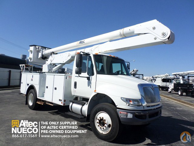 2009 ALTEC AA600-P Crane for Sale in Birmingham Alabama on CraneNetworkcom