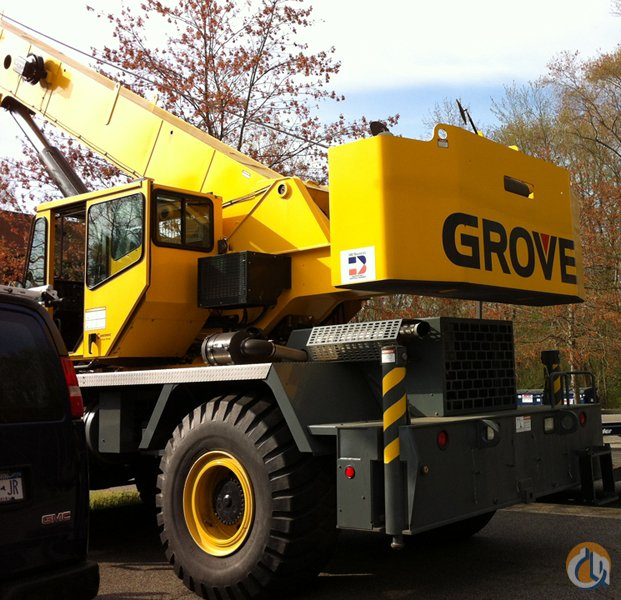 2006 GROVE RT650E WITH ONLY 550 HOURS TOTAL Crane for Sale in Stamford Connecticut on CraneNetwork.com