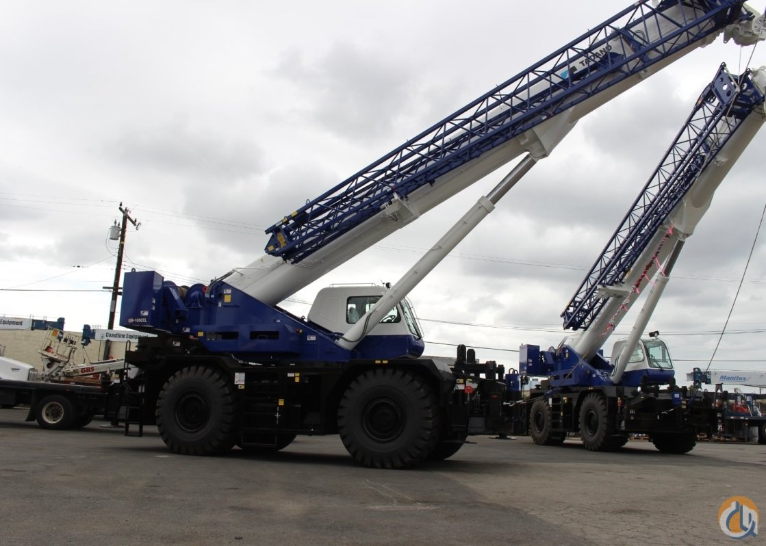 2013 Tadano GR-1000XL Crane for Sale or Rent in Edmonton Alberta on CraneNetwork.com