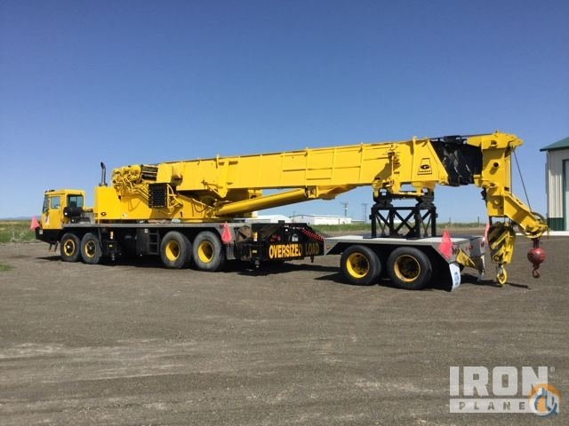 Grove TMS875 Truck Mounted Telescopic Boom Cranes Crane for Sale 1987 Grove TMS875 Hydraulic Truck Crane in Wheatland  Wyoming  United States 219021 CraneNetwork